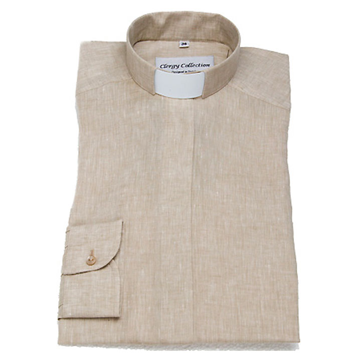 Prästskjorta Linne Priest shirt