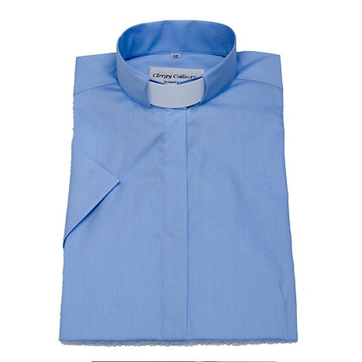 Prästskjorta kort ärm Priest shirt short sleeve